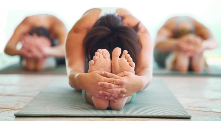 Yoga class photos