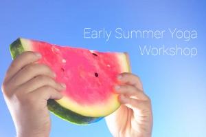 Early Summer Yoga Workshop Glasgow