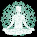 Restorative yoga and meditation image